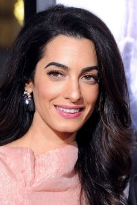 Amal Alamuddin Clooney.  Image Source: Getty / Barry King