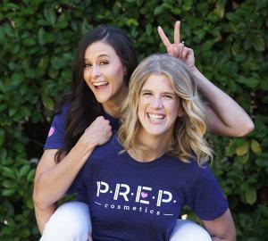 PREP Cosmetics founders.