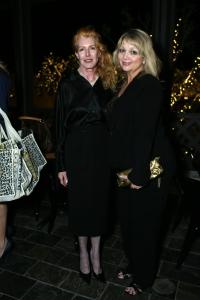Mary Burnham and Cathy Belen. Photo by bob Manzano.