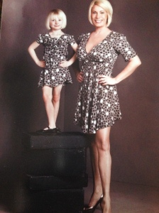 Gigi and Dena Miller in Abi Ferrin, from her original Mommy and Me line.