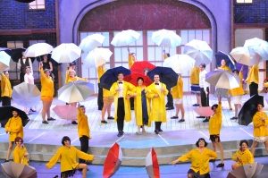 "Pearce High School ""Singin in the Rain"". Photo courtesy of Pearce HS."
