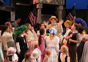 Last years teens performed The Music Man.